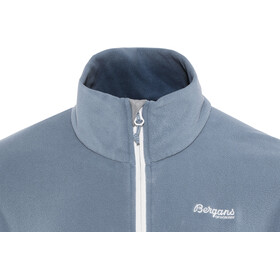 Bergans Lovund Fleece Jacket Herr fogblue/aluminium
